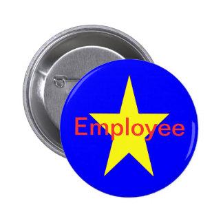 Star Employee 2 Inch Round Button