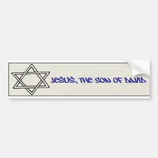 Star of David Bumper Sticker