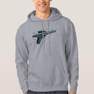 Star Ray Gun Laser Pistol Hoodie