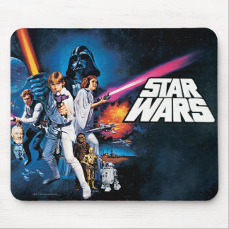 Star Wars Poster B Mouse Pad