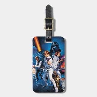 Star Wars Poster B Travel Bag Tag