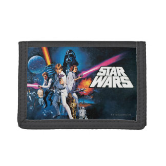 Star Wars Poster B Trifold Wallets