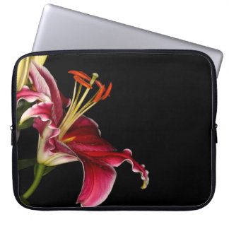 Stargazer Lily Laptop Computer Sleeve