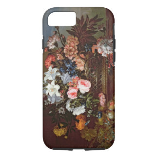 Still Life of Flowers in a Basket iPhone 7 Case