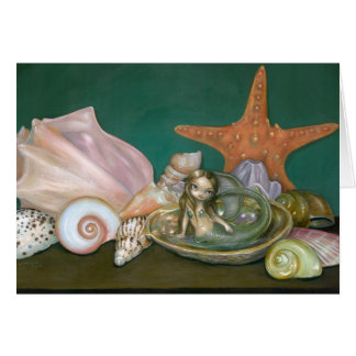 """""""Still Life With A Mermaid"""" Greeting Card"""