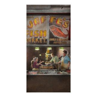 Store - Fish NY - Jaffe's Fish Market Customized Photo Card