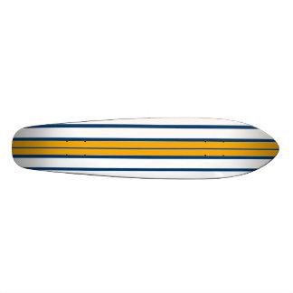 Striped Old School Deck Skate Boards