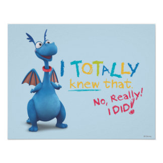 Stuffy - I Totally Knew that Poster