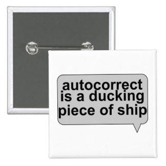 Stupid Autocorrect Sucks 2 Inch Square Button