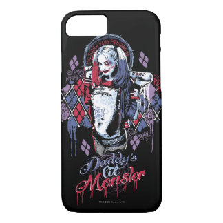 Suicide Squad | Harley Quinn Inked Graffiti iPhone 7 Case