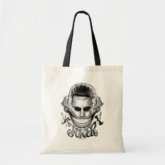 Suicide Squad | Joker Smile Budget Tote Bag
