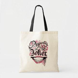 Suicide Squad | Property of Joker Budget Tote Bag