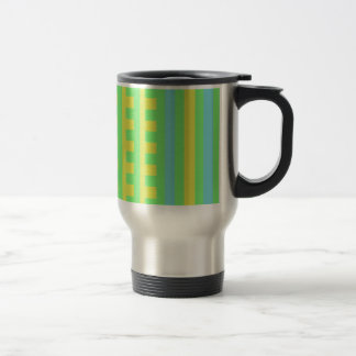 Summer Lime Combs Tooth 15 Oz Stainless Steel Travel Mug