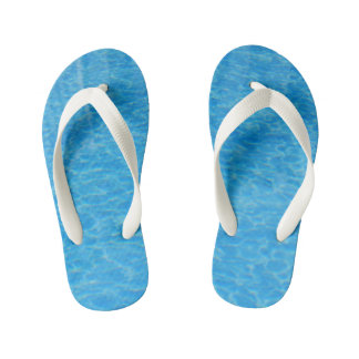 Summer Pool Kid's Flip Flops