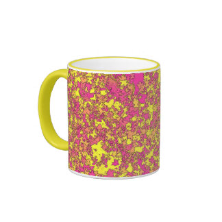 """Summer time"" - cup/coffee cup Ringer Coffee Mug"
