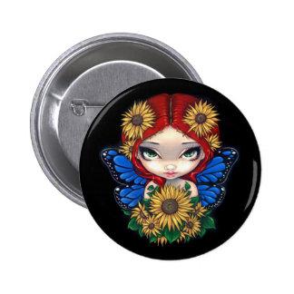 """Sunflower Fairy"" Button"