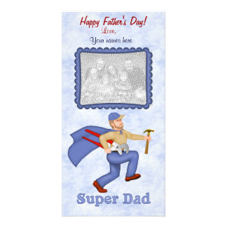 Super Dad Father's Day Photo Cards