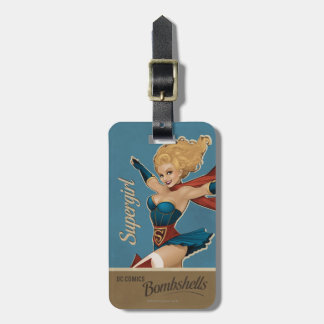 Supergirl Bombshell Bag Tag
