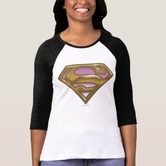 Supergirl Golden Logo Tee Shirt