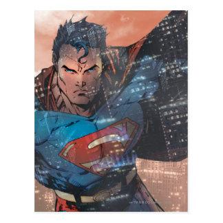 Superman - Red Postcard