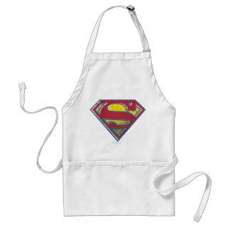Superman S-Shield   Printed Logo Standard Apron