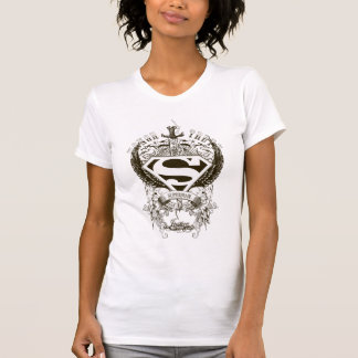 Superman Stylized | Honor, Truth and Justice Logo Tshirt