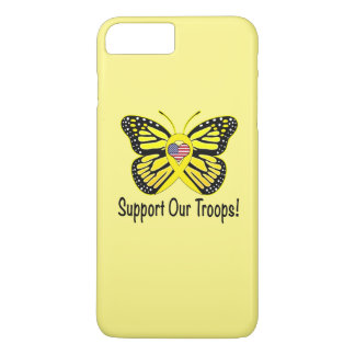 Support Our Troops with Butterfly iPhone 7 Plus Case