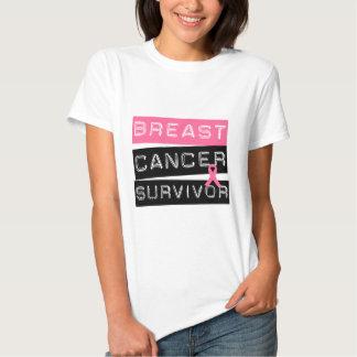 Survivant de cancer du sein t-shirts