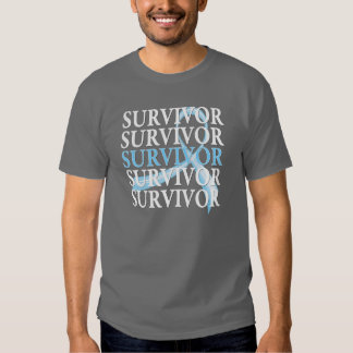 Survivor Collage Prostate Cancer Tshirt
