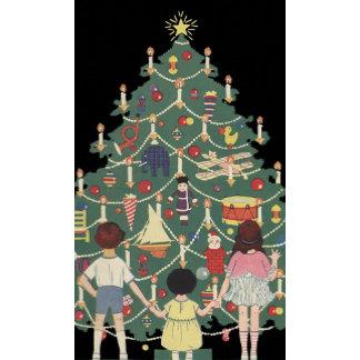 Children Around the Christmas Tree