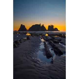 USA, Washington State. Sunset At Point
