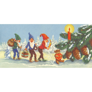 Elves in the Snow