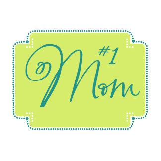 #1 Mom Tag