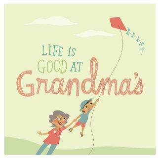 Grandma With a Kite