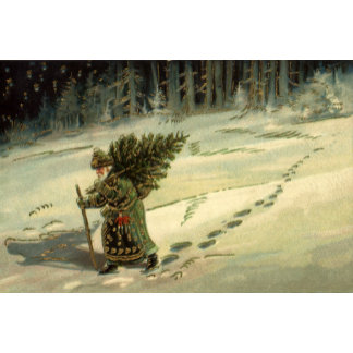 Carrying a Christmas Tree