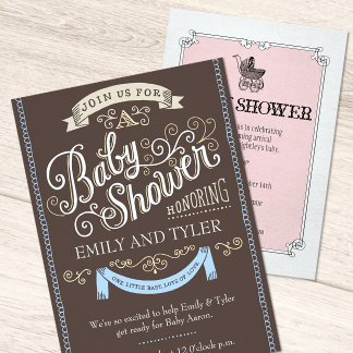 Baby Shower Invitations and Postage