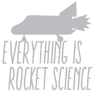 Everything is ROCKET SCIENCE