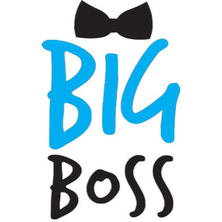 Big Boss with black tie