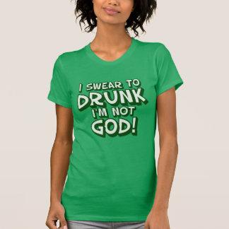 Swear To Drunk Funny Irish T-shirts