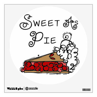 Sweet as Pie Wall Sticker