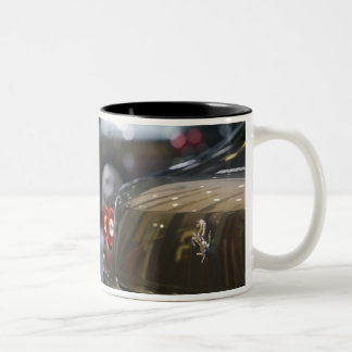 SWITZERLAND, GENEVA: 75th Annual Geneva Auto 3 Two-Tone Coffee Mug