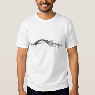 Sydney Harbour Bridge: 3D Model: T-shirts