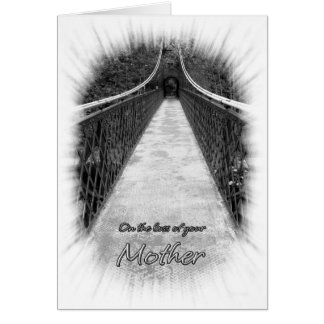Sympathy on the Loss of Your Mother Bridge Card