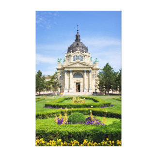 Szechenyi Thermal Baths in Budapest Gallery Wrap Canvas