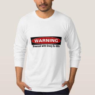 T-shirt d'avertissement