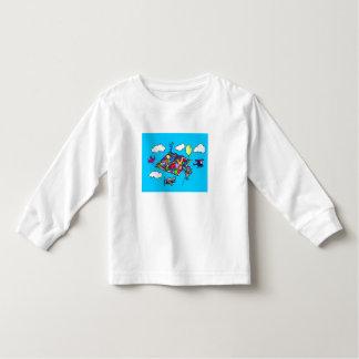 T-shirt de la Long-Douille de l'enfant en bas âge