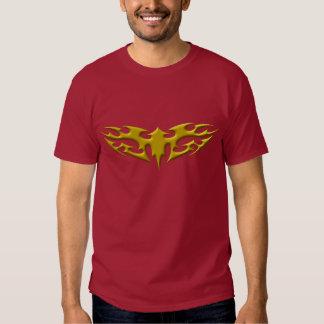 "T-shirt de ""torche"" d'or"