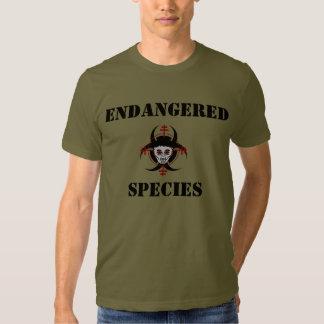 T-shirt de vampires d'espèce menacée (chemises
