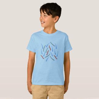 T-shirt du coton des enfants de branches