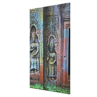 Ta Prohm Temple, Siem Reap Province, Cambodia Canvas Prints